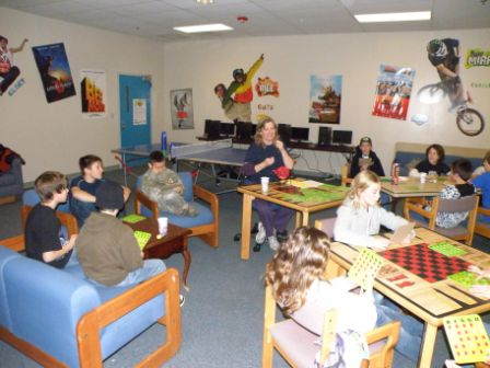Teen Center Activities From 29